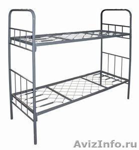 Кровати двухъярусные, кровати металлические, кровати армейские, кровати оптом - Изображение #4, Объявление #650765