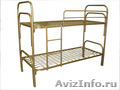 Кровати одноярусные металлические, кровати металлические двухъярусные. Дёшево - Изображение #3, Объявление #1479855